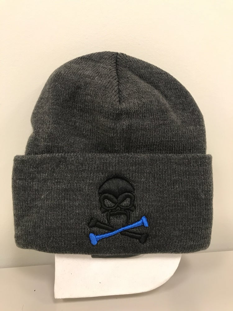 Image of Sonkei Blue Gray 3D Puff Beanies