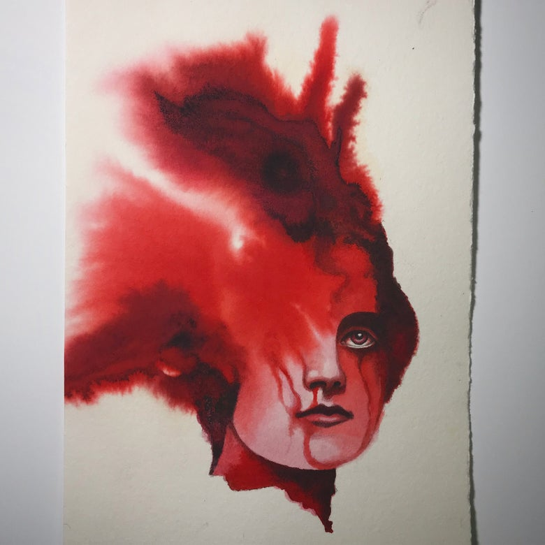 Image of Blood lady #29