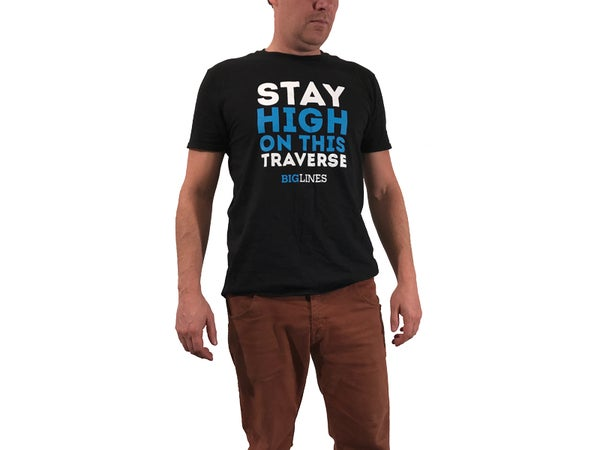 Image of Stay High On This Traverse TEE