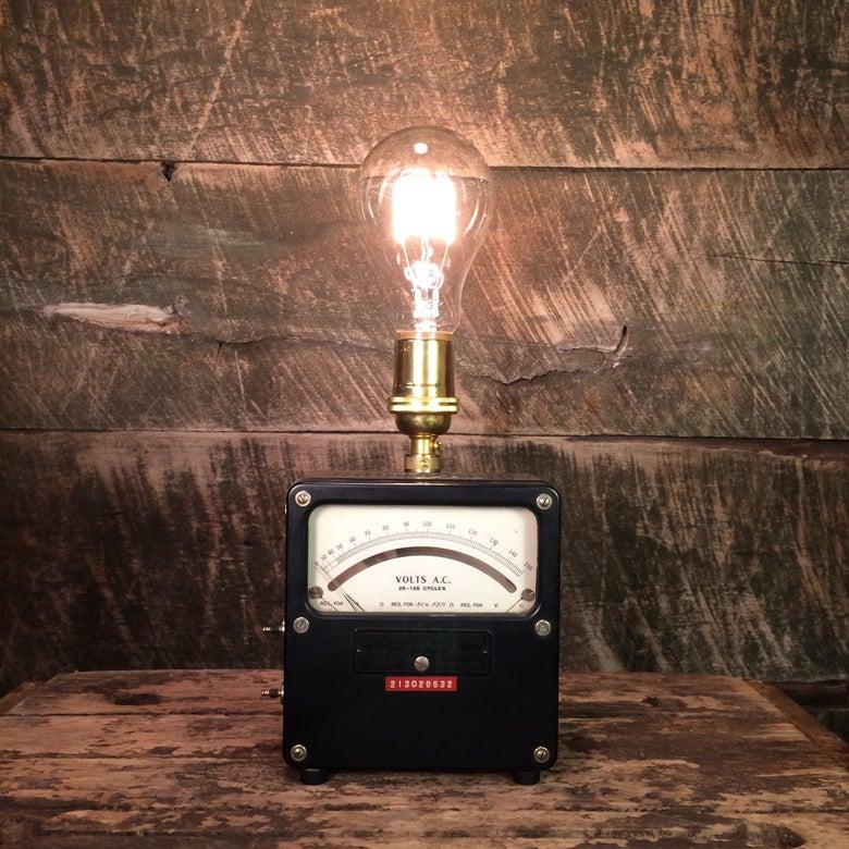 Image of Analog Voltmeter Lamp