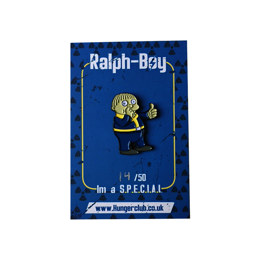 Image of Ralph-Boy Pin Badge