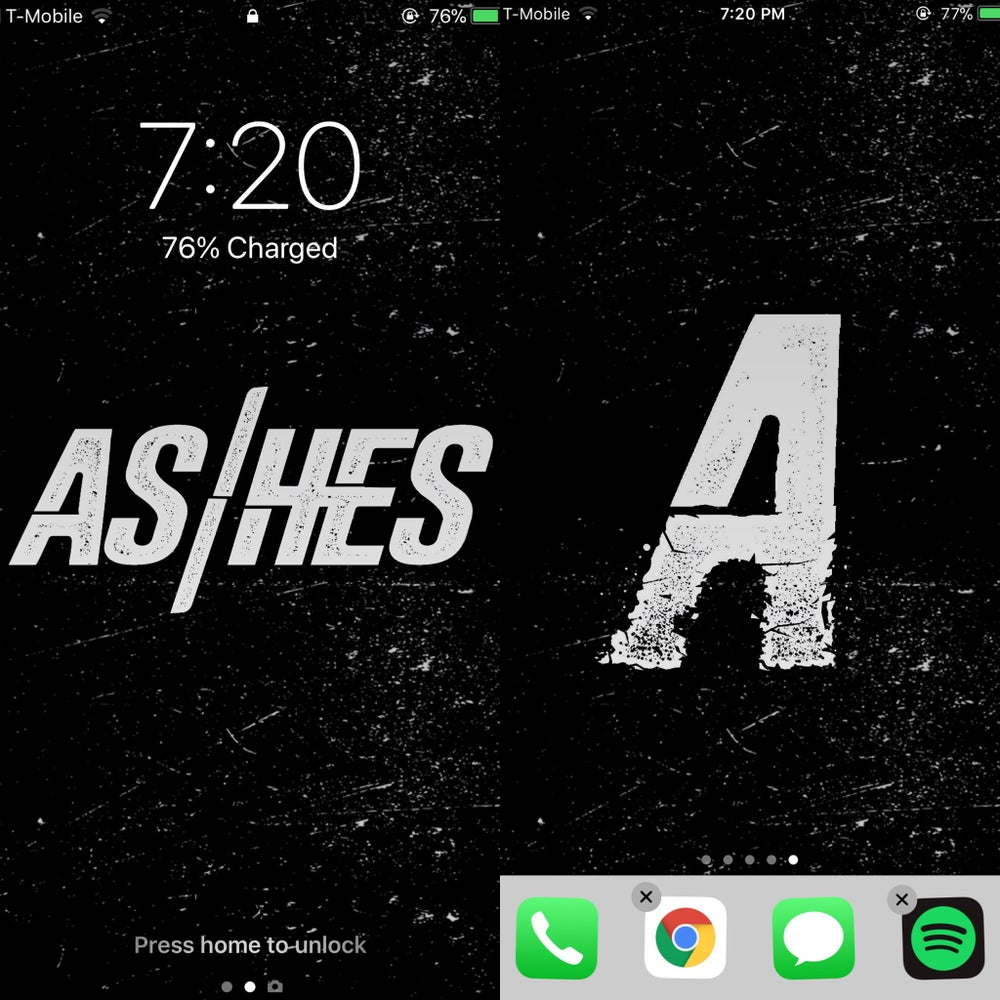 Image of **FREE** AS/HES Wallpapers for iPhone/Android DL Link In Description