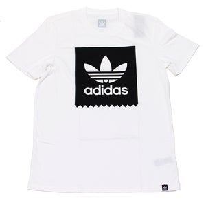 Image of White Solid BB Tee