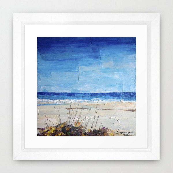 Image of 'Coastal no.5' - limited edition of 100 fine art Giclee print