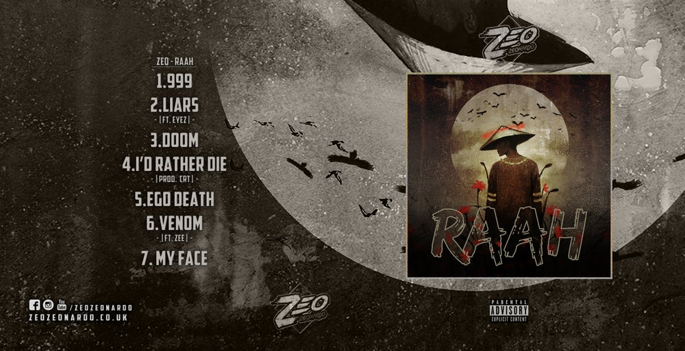 Image of Zeo - Raah (Physical Copy)