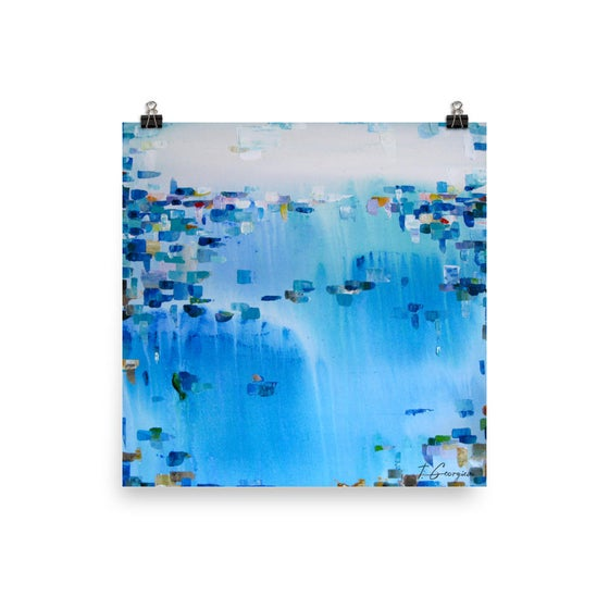 Image of 'Aquamarine dreams' - limited edition Giclee print