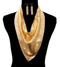 Image of GOLD SCARF