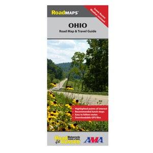 Image of Ohio State Road Map