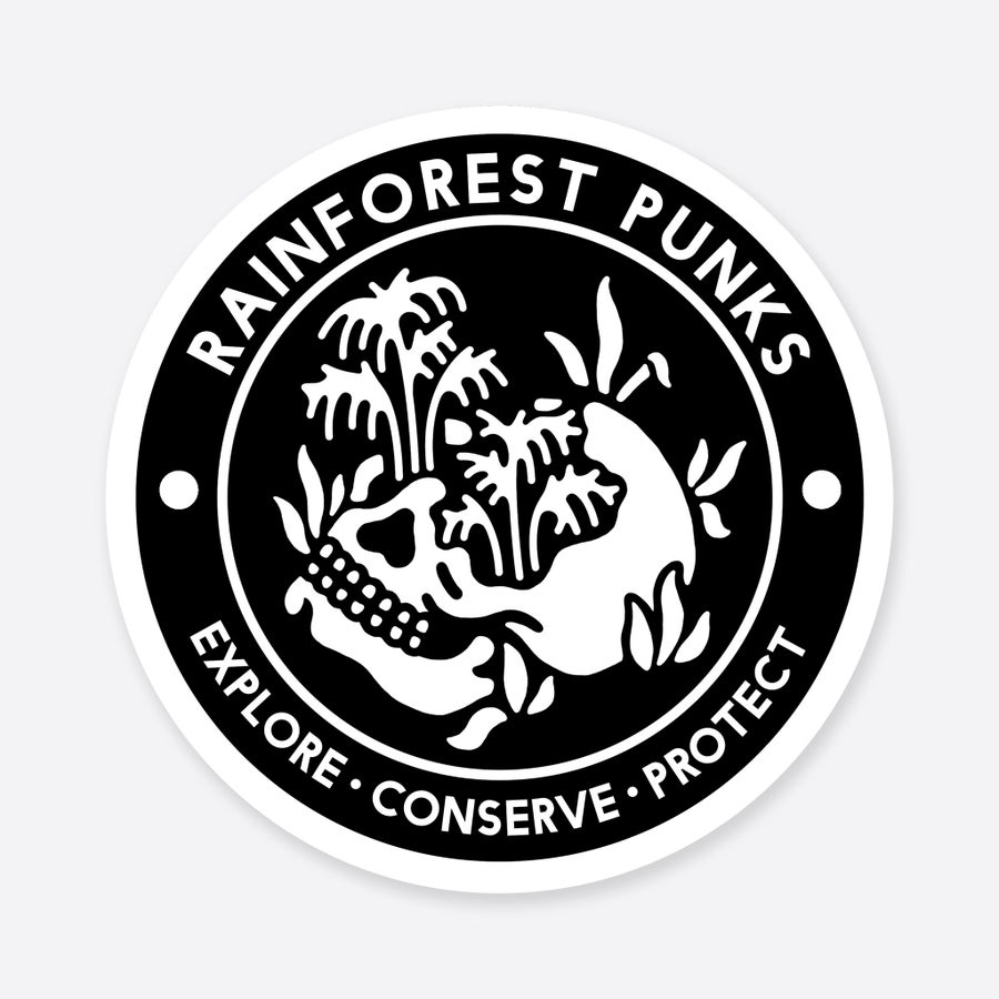 Image of 'Rainforest Punks' Patch