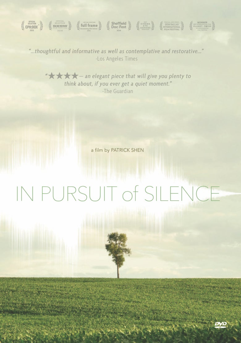Image of IN PURSUIT OF SILENCE DVD (Educational Edition)