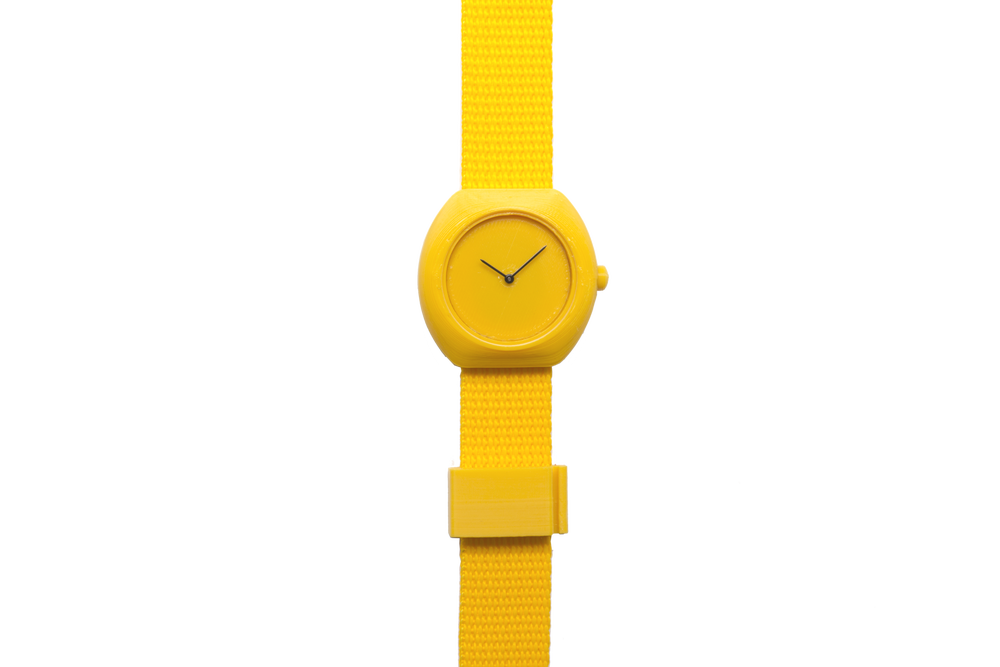Image of Watch.step - Yellow