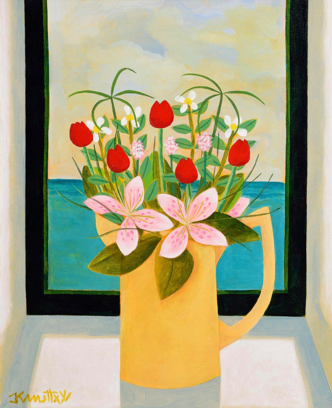 Image of JUG OF FLOWERS