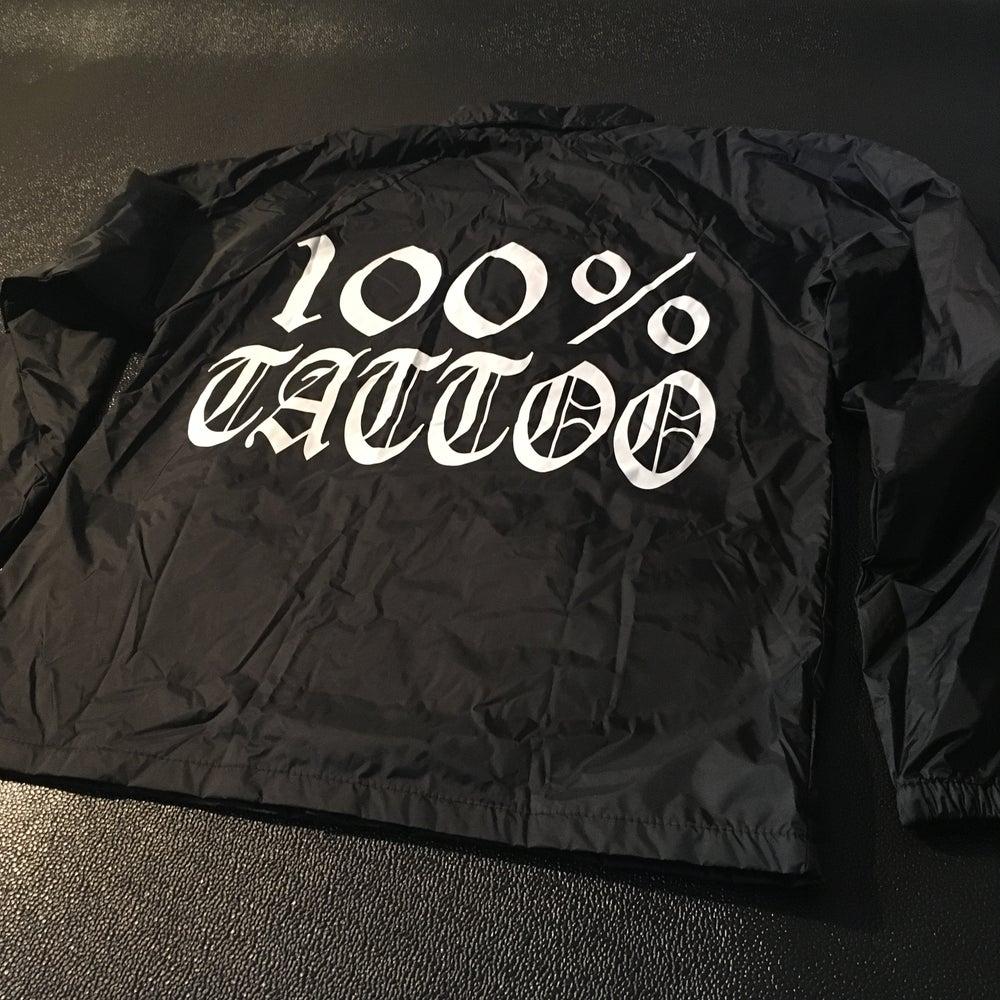 Image of 100% TATTOO Windbreaker jacket