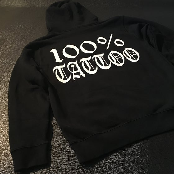 Image of 100% TATTOO Hoodie sweater