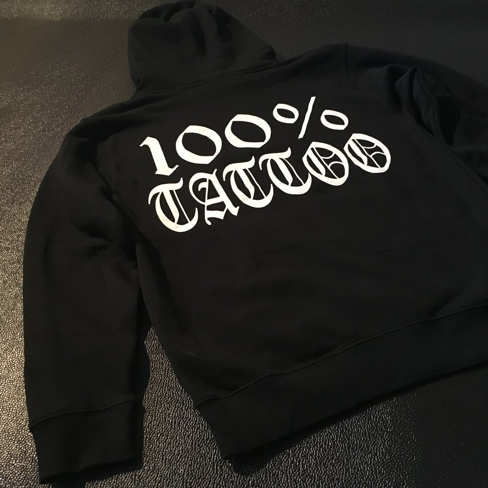 Image of 100% TATTOO Hoodie sweater