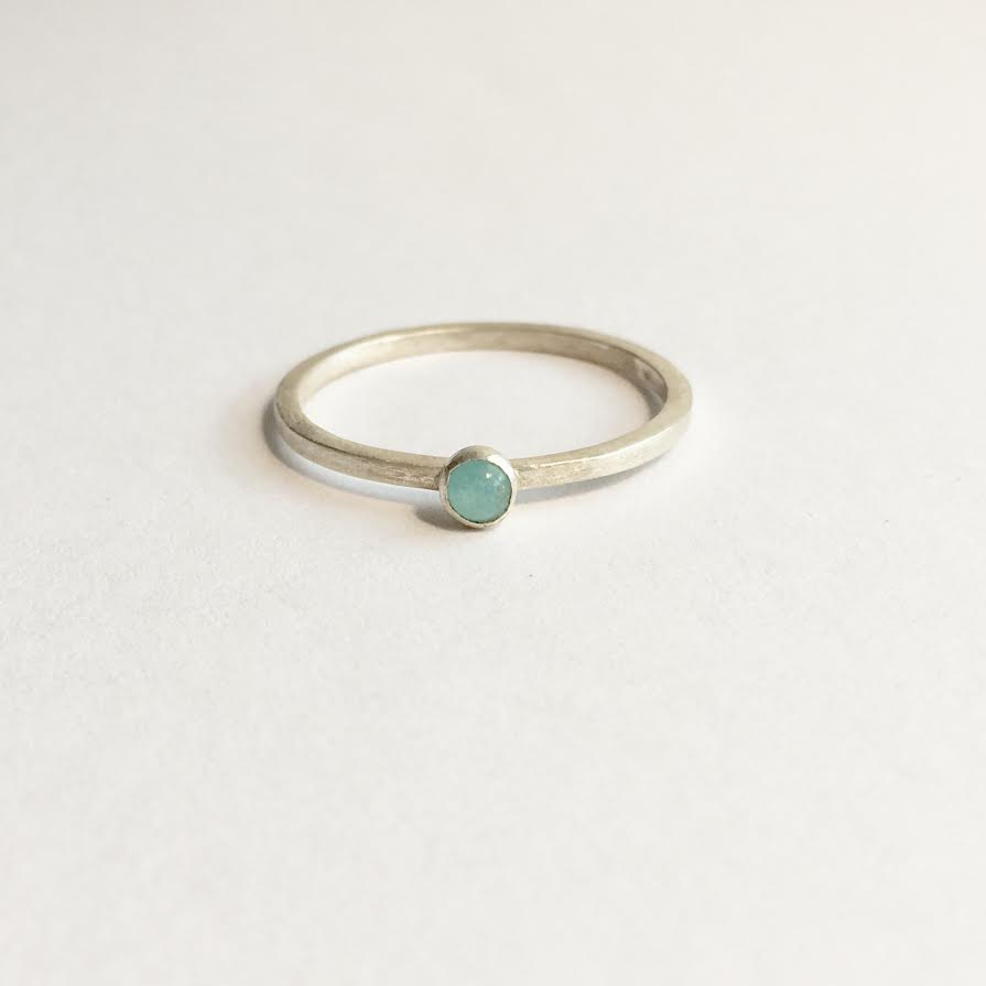 Image of Amazonite ring