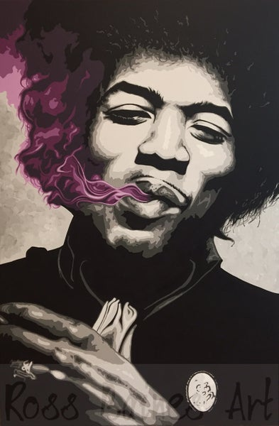 Image of 'PURPLE HAZE' (fine art print A1, A2, A3, )