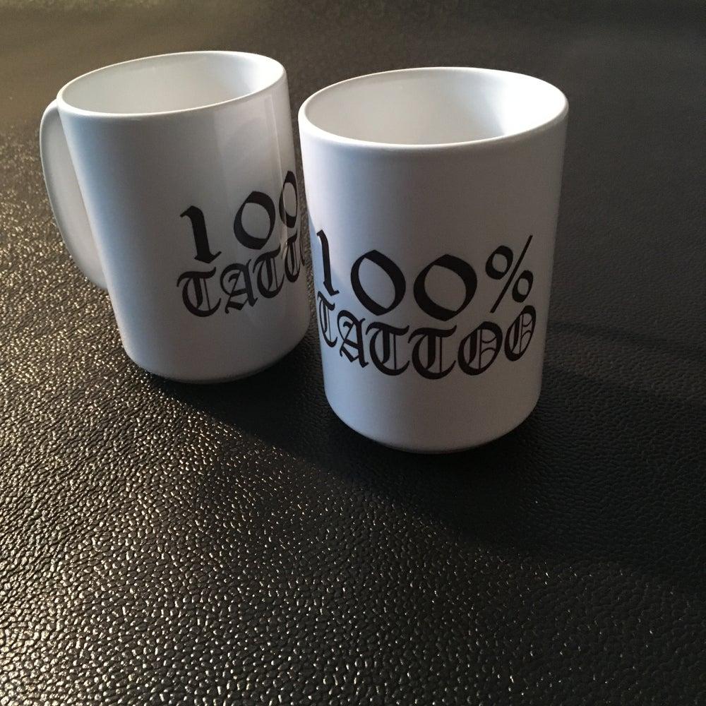 Image of 100% TATTOO Coffee mugs