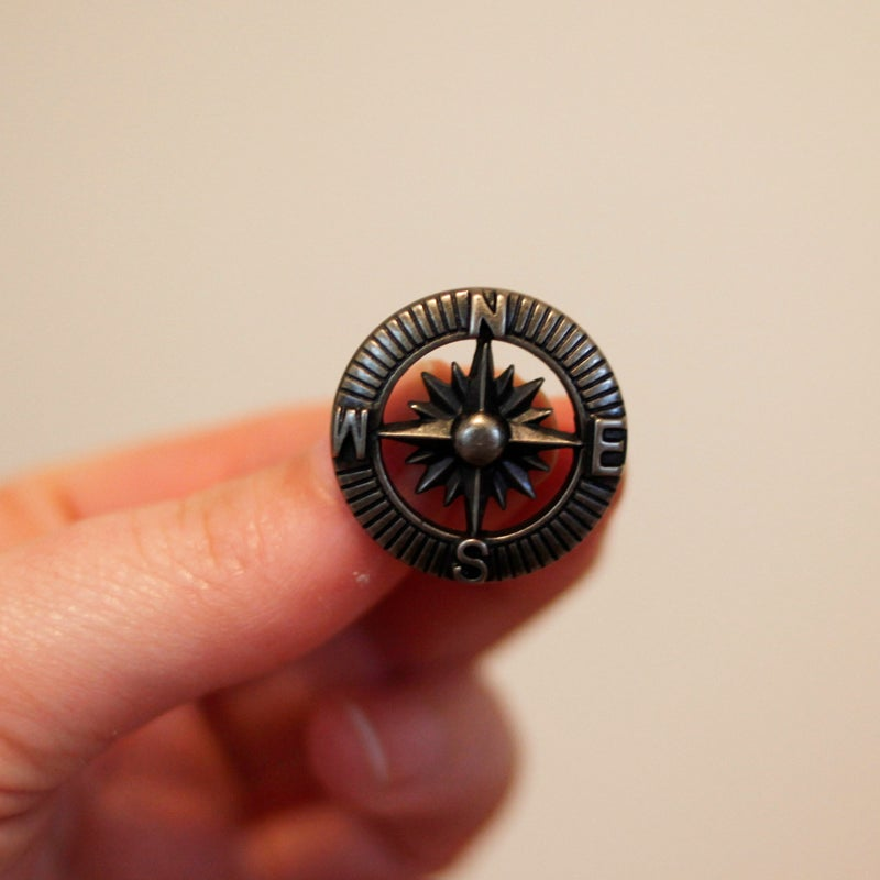 Image of Bronze Compass Plugs (sizes 5/8-7/8)