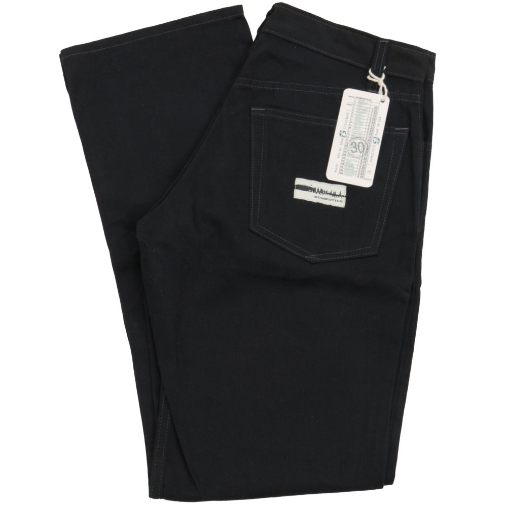 Image of MADE IN USA DOMEstics. Black Midweight Pants