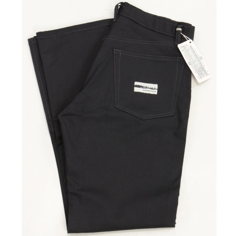 Image of MADE IN USA DOMEstics. Black Stretch Pants