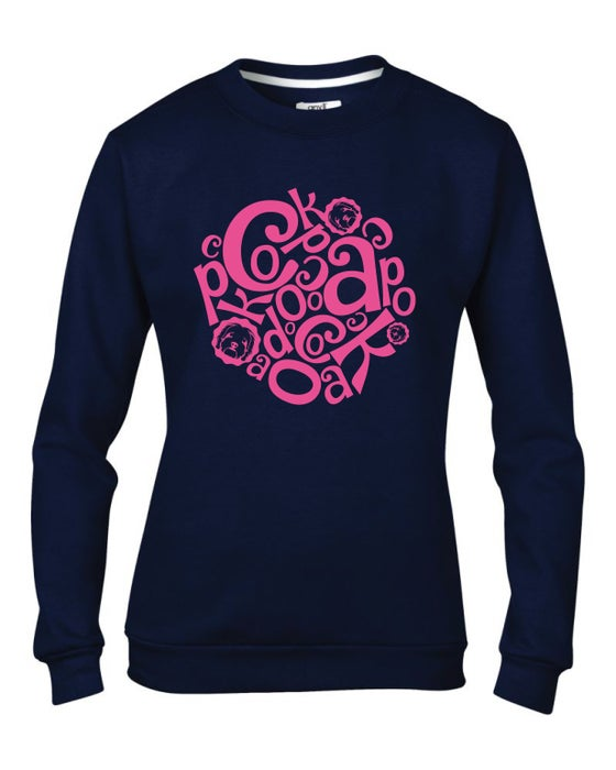 Image of 'Jumble' Navy Sweater