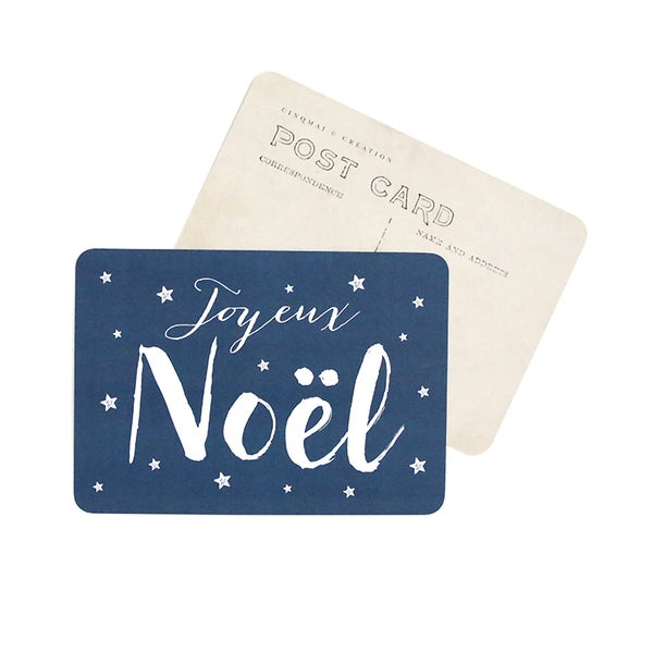 Image of Carte Postale JOYEUX NOEL / JANE / 1