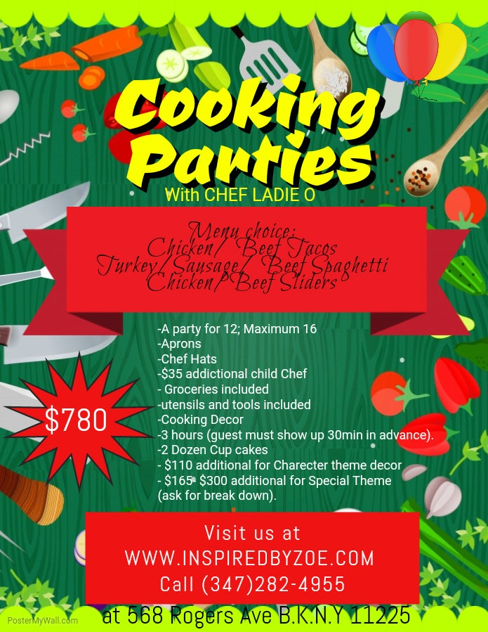 Image of Cooking Party