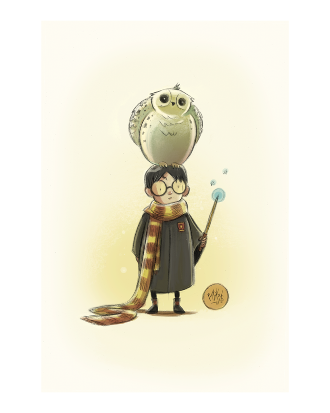 Image of Harry & Hedwig