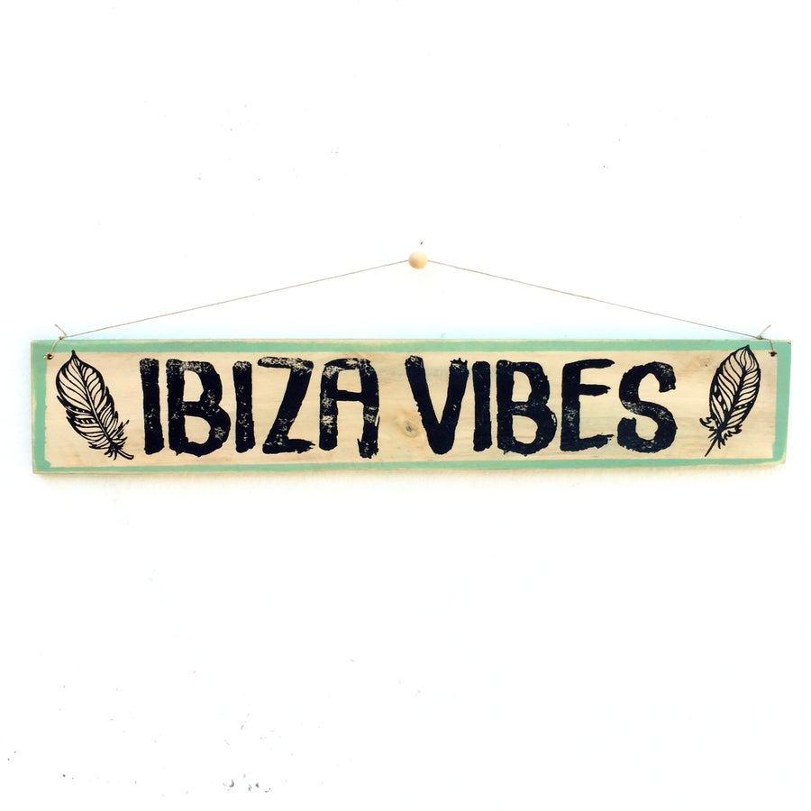 Image of Cartel IBIZA VIBES