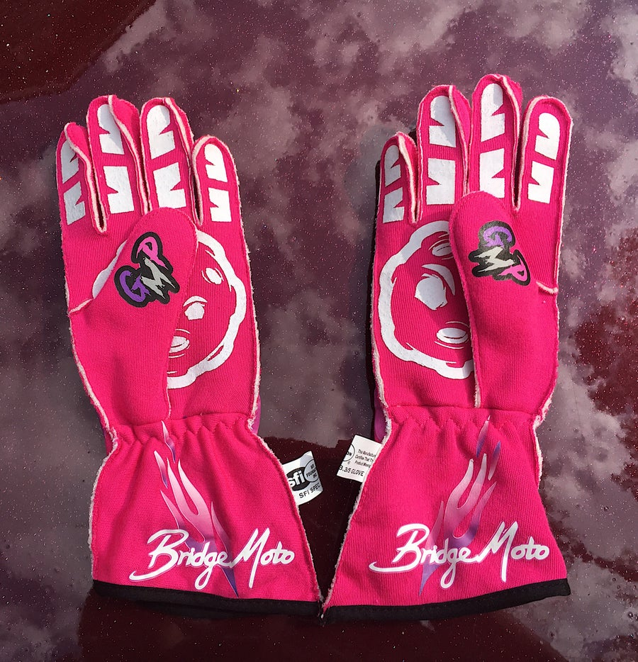 Image of Pink GMP gloves (19 available)