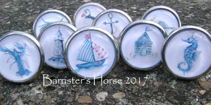 Image of NAUTICAL/COASTAL, METAL DRAWER KNOBS