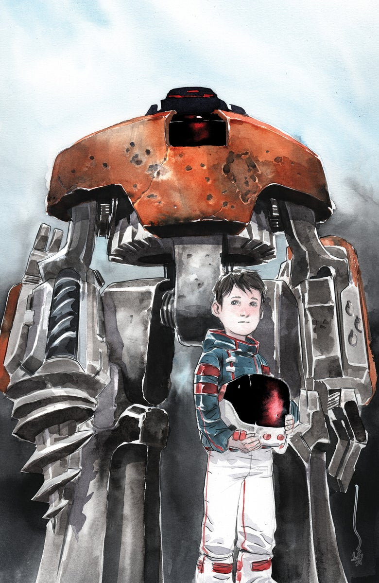 Image of Descender #26 Dustin Nguyen Virgin Exclusive Variant