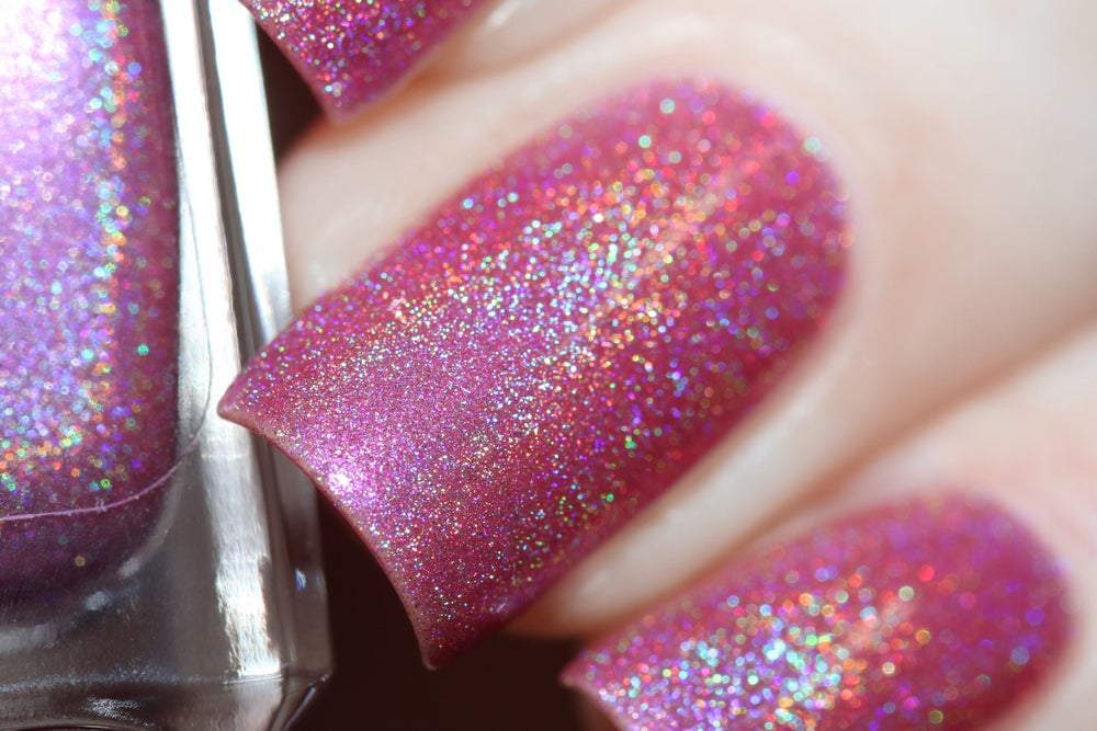 Image of ~Chump~ cool rose pink linear holo Duds III!
