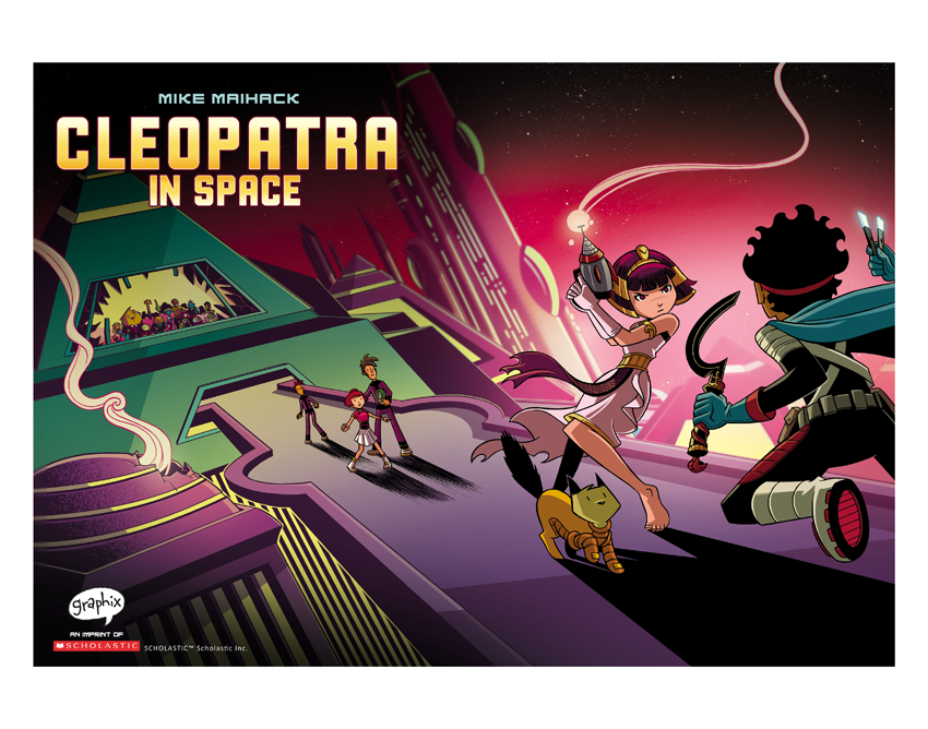 Image of Cleopatra in Space #2 Cover