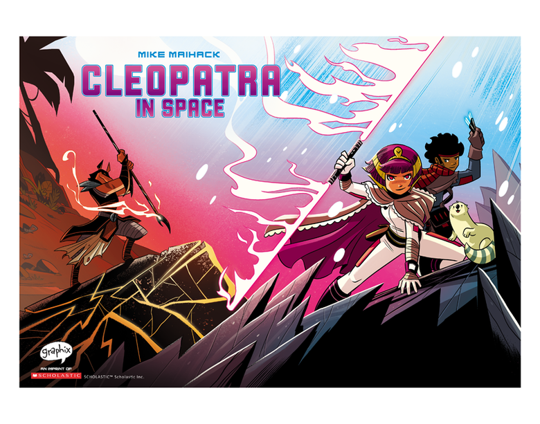 Image of Cleopatra in Space #4 Cover