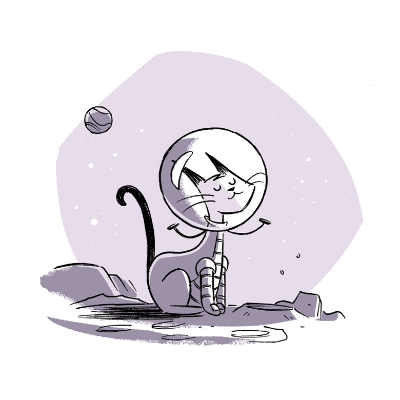 Image of Space Cat