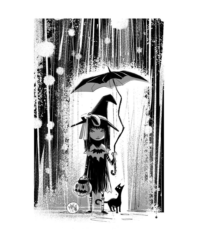 Image of Rainy Halloween