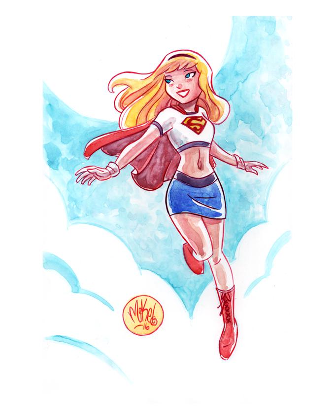 Image of Supergirl (Animated Costume)