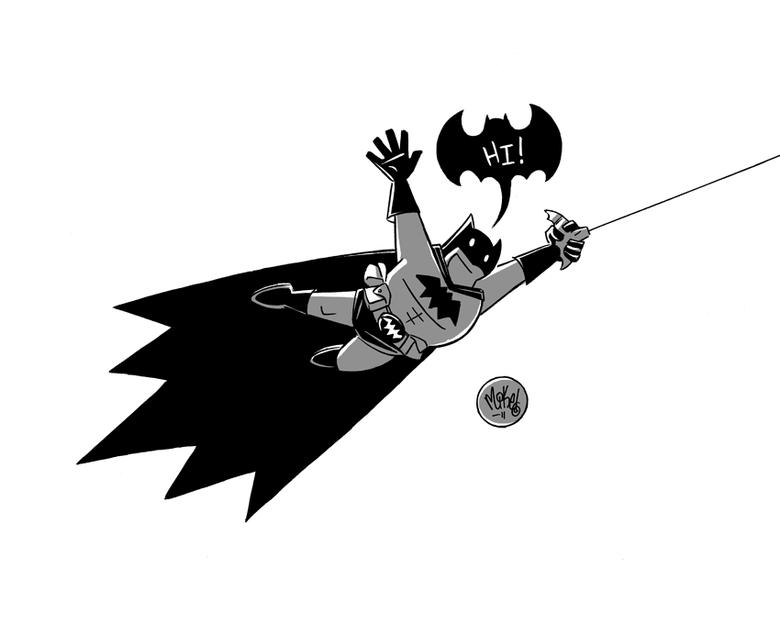 Image of Batman Hi