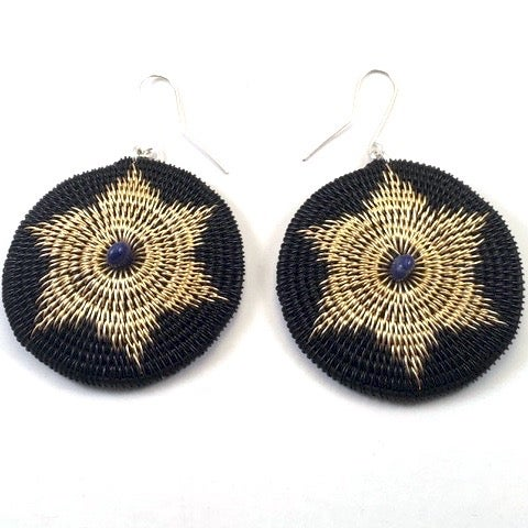Image of Arnica and Lapis Earrings