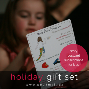 Image of Petit Mail Holiday Gift Set