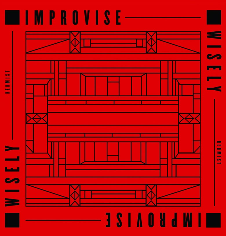 "Image of 7"" Vinyl - Redmist - Improvise Wisely (CNP011)"