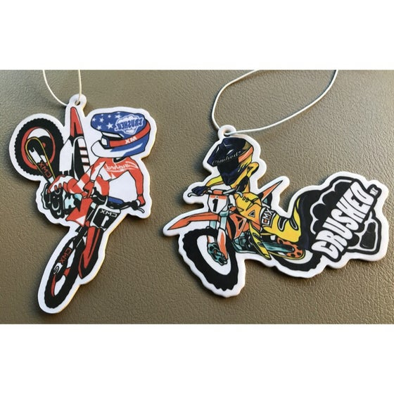 Image of Crushed MX Dirt Bike Air Freshner