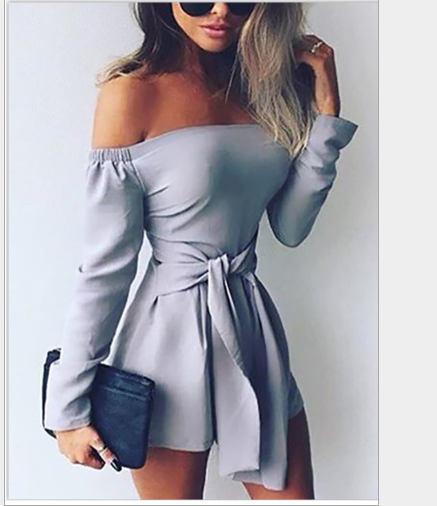 Image of Hot sell a long sleeve jumpsuit