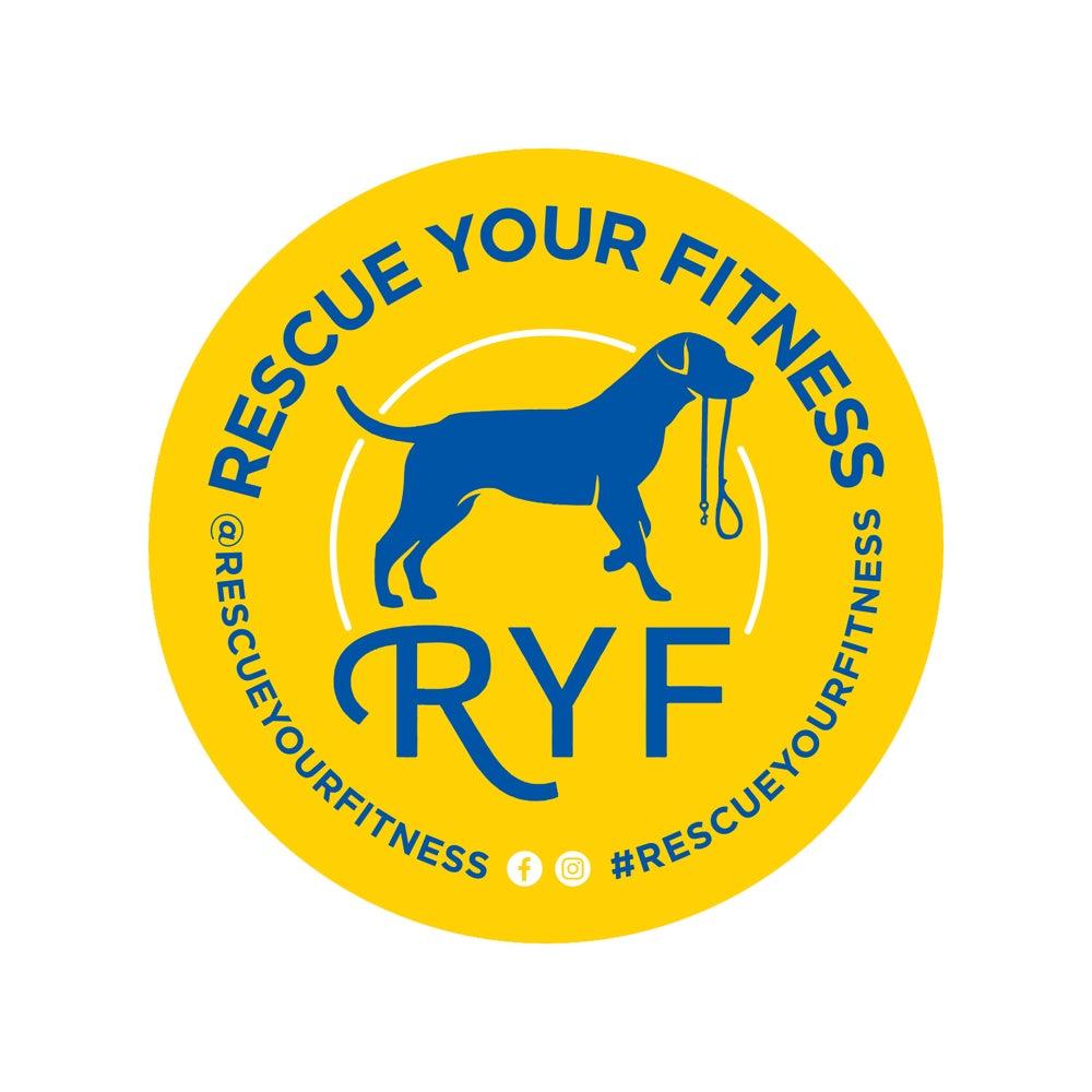 Image of RYF Circle Sticker