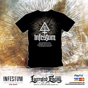 Image of INFESTUM - Ayn Tshirt