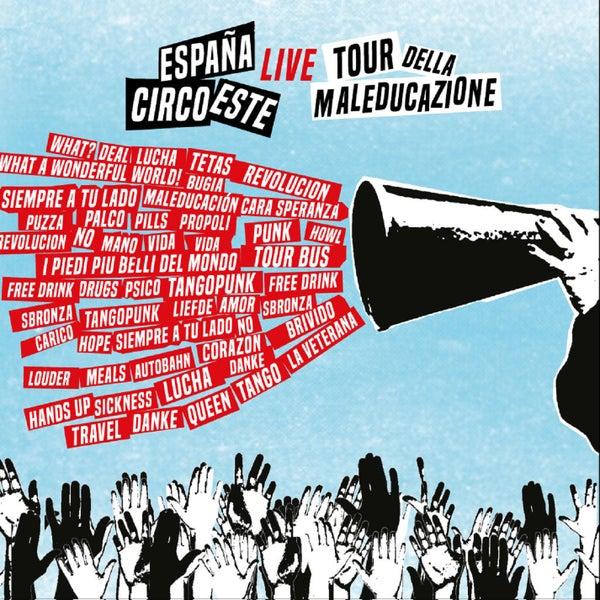 Image of Espana Circo Este - Tour della maleducazione - CD ed. lim.