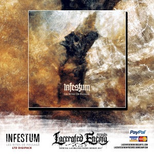 Image of INFESTUM - Les Rites De Passage - LIMITED DIGIPACK
