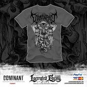 Image of DOMINANT - Servants of Damnation Tshirt